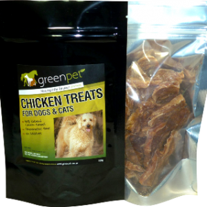 Greenpet Chicken Treats 100G