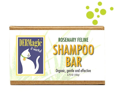 Dermagic Rosemary Shampoo Bar For Felines 105G