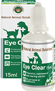 Natural Animal Solutions Eye Clear 15Ml