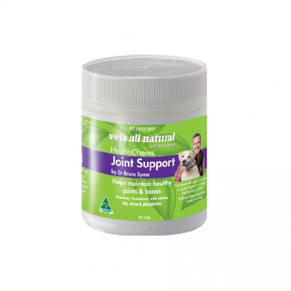 Vets all Natural health chews: Joint support