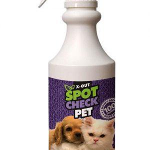 X-Out Spot Check Pet