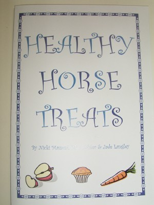 Healthy Horse Treats booklet