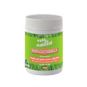 vets all natural skin and coat formula