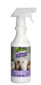 X Out Organic Litter Fresh Spray 500Ml