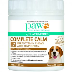 Paw complete calm dog chews