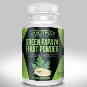 Green Papaya Powder Veggie Caps - Natural Enzymes