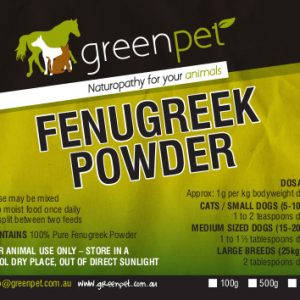 GreenPet Fenugreek Powder