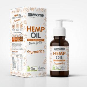 Hemp & Turmeric Oil