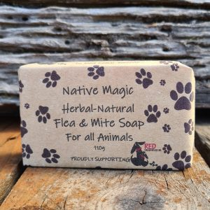 Herbal-Natural Flea & Mite Soap